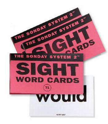 Sight Word Card Deck