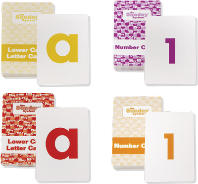 Letters and Numbers Card Decks both