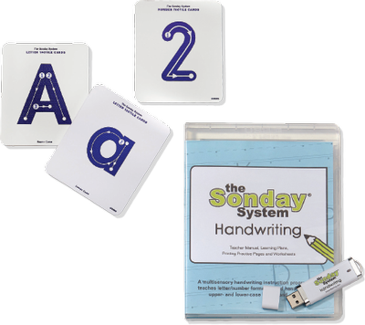 Sonday System Handwriting Bundle