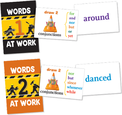 Words at Work Card Games 1 and 2