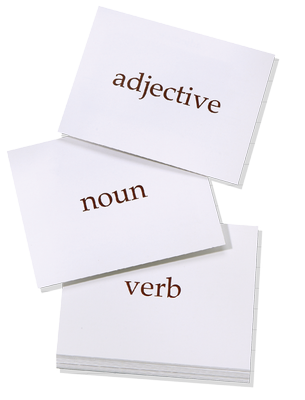 Grammarbuilder Vocabulary Card Deck