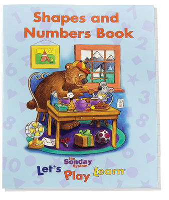 Shapes and Numbers Book